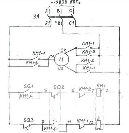 Схема на гибочный станок для арматуры